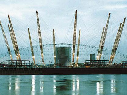 Rogers-Hadid-Imagination<br> Millennium Dome, Halbinsel von Greenwich, London, 1996-1999