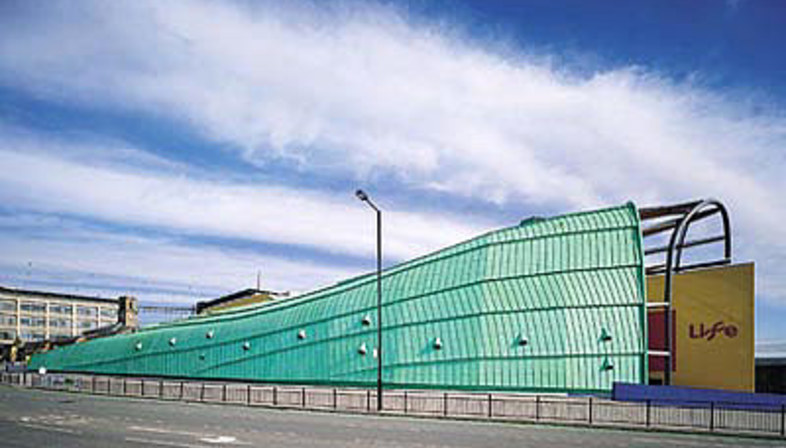 Terry Farrell<br> International Centre for Life, Großbritannien, 1996