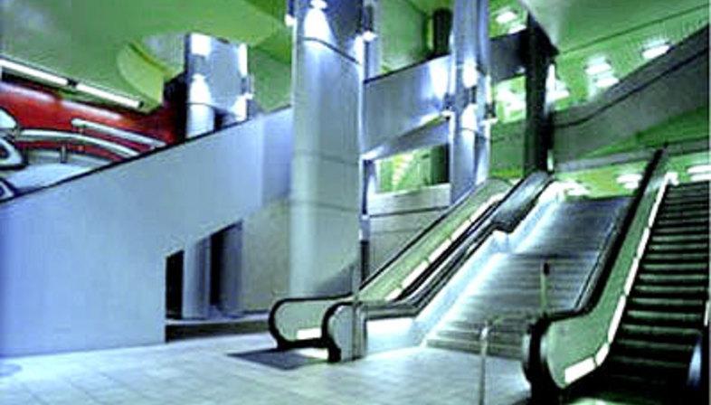 Massimo Iosa Ghini<br>U-Bahn Station, Hannover
