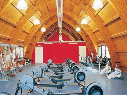 Rowing Center in Genua Pra