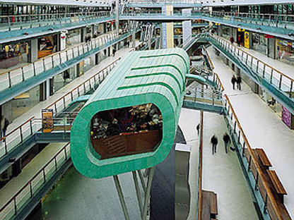 Amsterdam, Villa Arena:<br>Das neue Restaurant im Möbeleinkaufszentrum