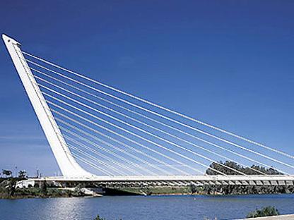 Brücke Alamillo<br> Sevilla