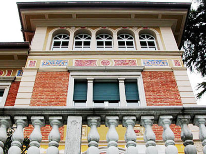 Luigi Ferrari<br> Renovierung einer Jugendstil-Villa in Roè Volciano