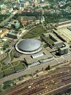Sazka Arena - Prag<br> 2004 - Helika Praga