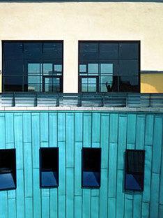 Gebäudekomplex Musikhochschule und Kino-Center<br> Mannheim, Michael Wilford
