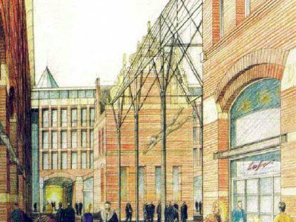 Adolfo Natalini. Waagstraat. Groningen (Niederlande). 1995