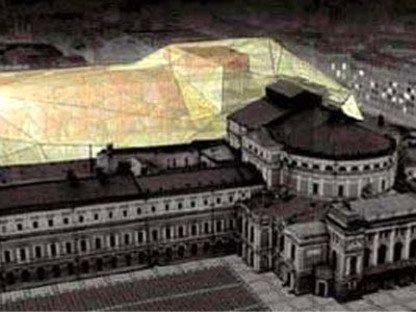 Dominique Perrault<br> Ausbau des Theaters Mariinskij <br>Sankt Petersburg