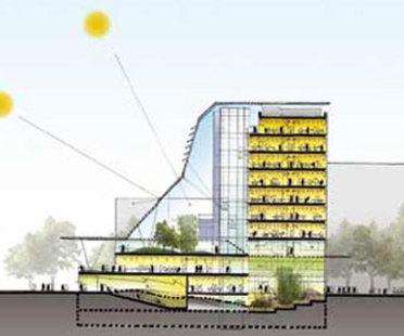 Sino Italian Energy Efficient Building. Mario Cucinella Architects. Pechino. 2004