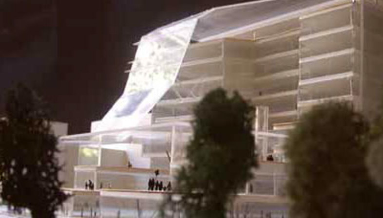 Sino Italian Energy Efficient Building. Mario Cucinella Architects. Peking. 2004