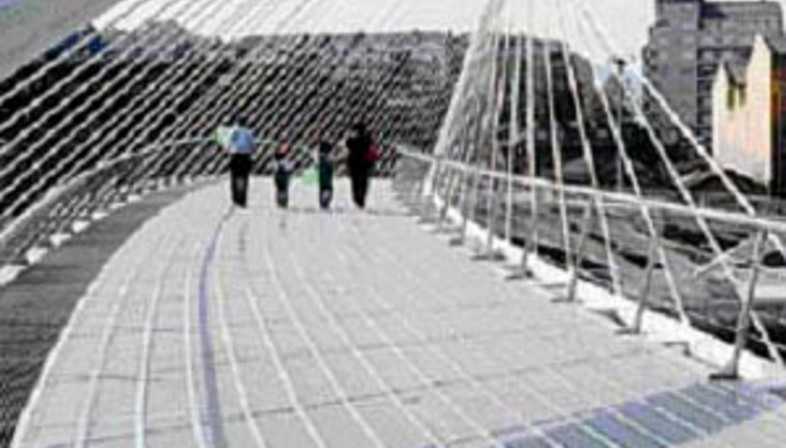 die Brücke Calatrava <br>Venedig. 2004