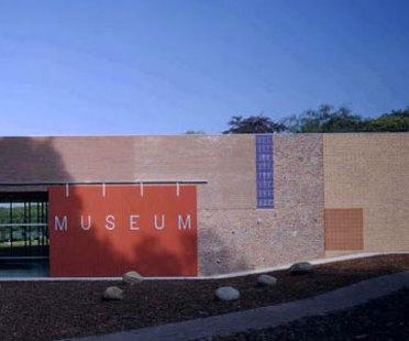 National Heritage Museum, Mecanoo.<br> Arnhem, Niederlande. 2000