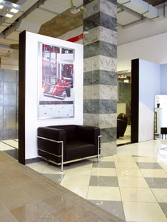 Showroom Iris Ceramica und Fabbrica Marmi e Graniti in Berlin