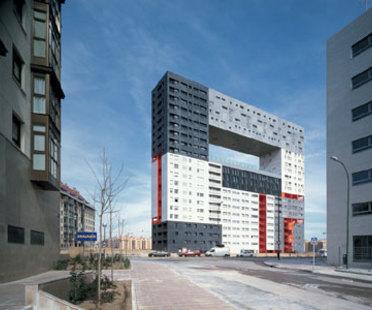 Wohnegebäude Mirador<br> MVRDV + Blanca Leó<br> Madrid, 2005