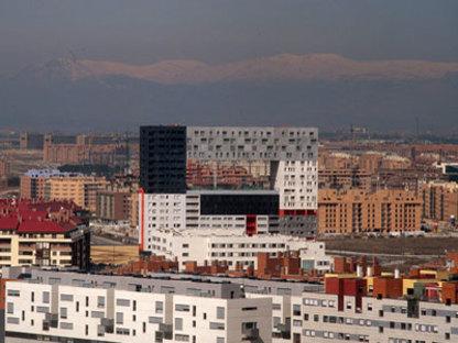 Wohnegeb&auml;ude Mirador<br> MVRDV + Blanca Le&oacute;<br> Madrid, 2005