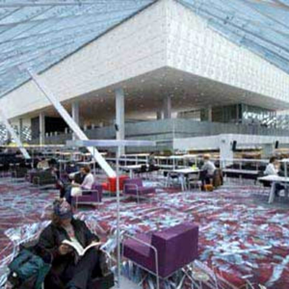 Seattle Public Library Rem Koolhaas Oma Floornature