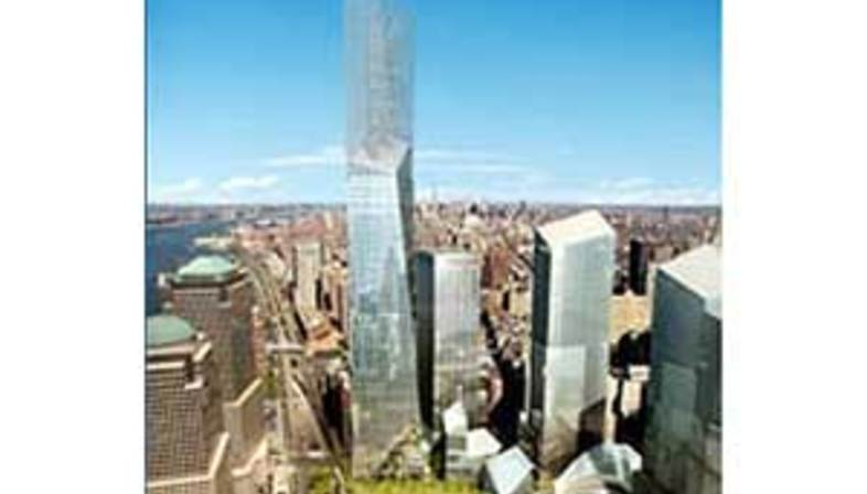 New York, Freedom Tower.<br> Daniel Libeskind und David Childs. 2005