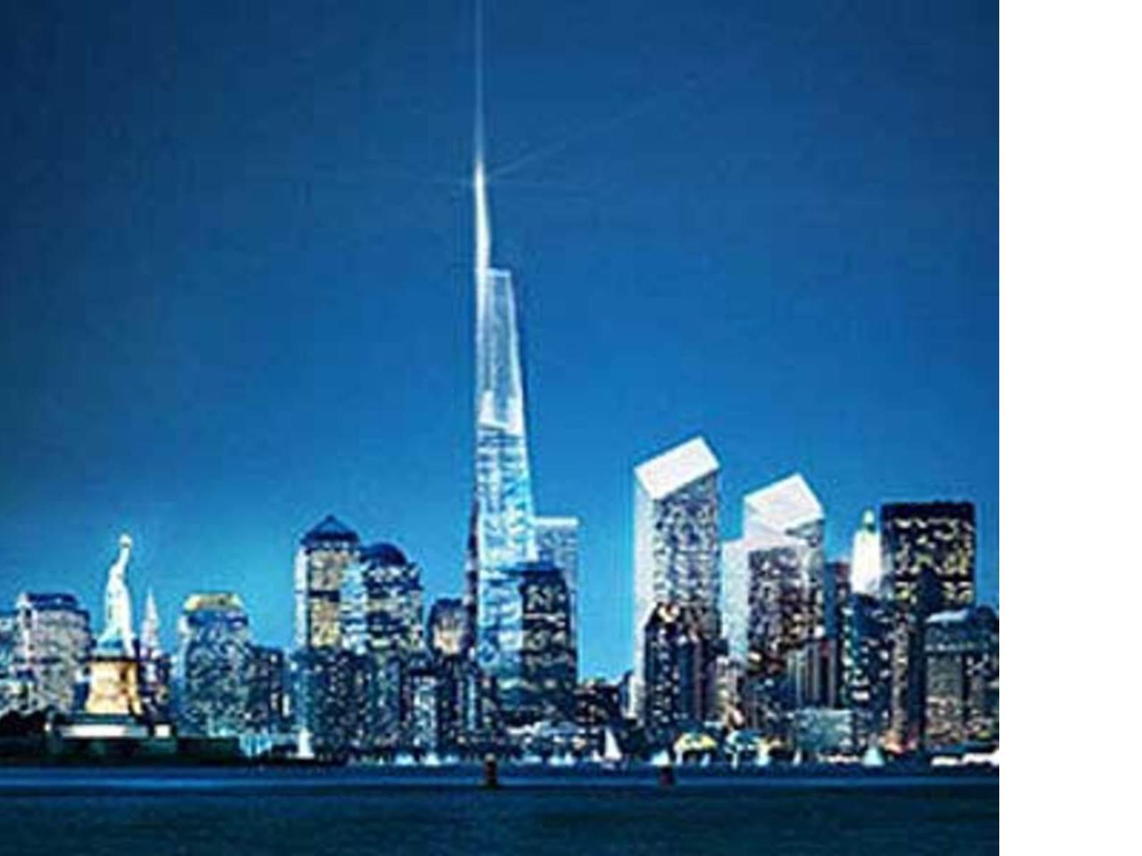 New York Freedom Tower Daniel Libeskind Und David Childs 2005