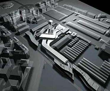 MAXXI - Landeszentrum für zeitgenössische Künste. Zaha Hadid. Rom