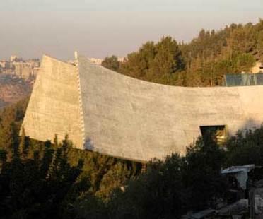 New Holocaust History Museum in Yad Vashem, Moshe Safdie