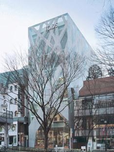 Tokio. Neuer Sitz von Tod's<br> Toyo Ito. 2004