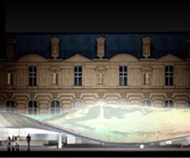 Parigi. Museo dell'arte islamica del Louvre. Mario Bellini e Rudy Ricciotti. 2005