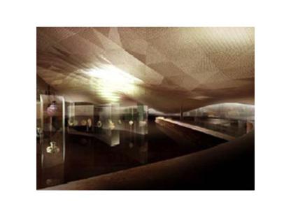 Paris. Museum für islamische Kunst des Louvre. Mario Bellini und Rudy Ricciotti. 2005