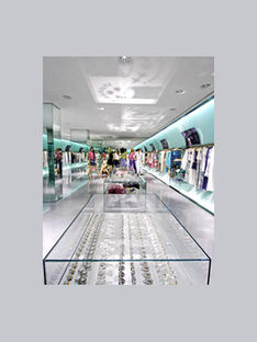 Boutique Just Cavalli<br> Italo Rota, Mailand. 2005