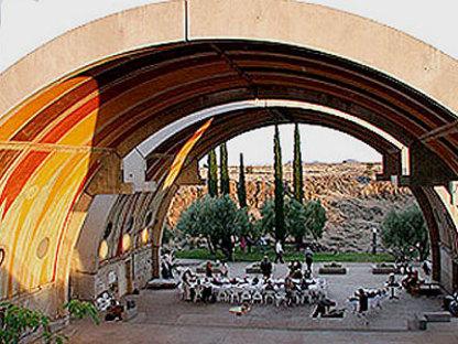 Arcosanti, die Utopie von Paolo Soleri