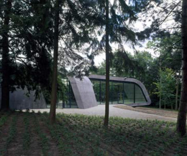 Ampliamento del Ordrupgaard Museum. Zaha Hadid. Ordrup, 2005
