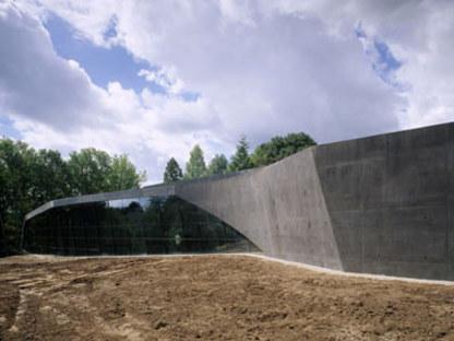 Ausbau des Ordrupgaard Museums. Zaha Hadid. Ordrup, 2005