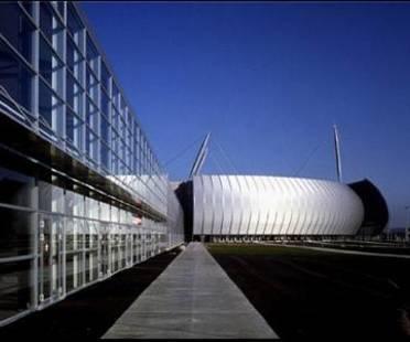 Bernhard Tschumi, Konzerthalle Zénith in Rouen, Frankreich, 1998-2001