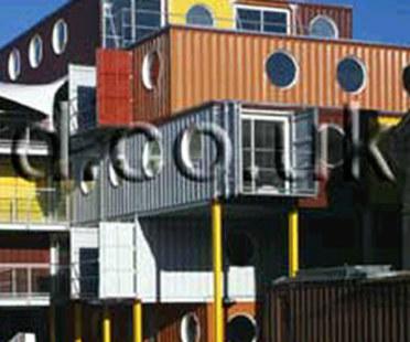 Container City. Nicholas Lacey & Partner. London. 2002