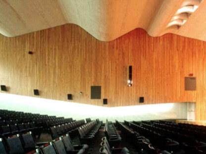 Kongresspalast,<br /> Paredes Pedrosa Architects. Peñiscola (Spanien). 2001