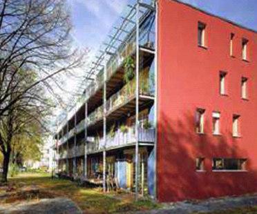 Wohnen & Arbeiten, Freiburg. Id-Architekur. 1999