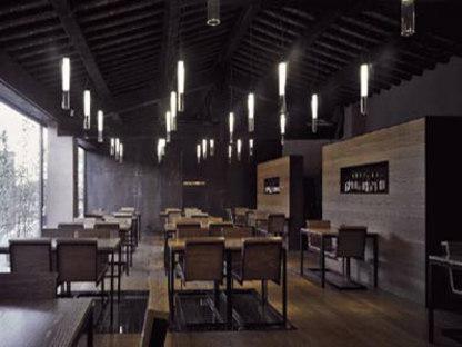Caffè San Colombano. Archea Associati. Lucca, Italien. 2004