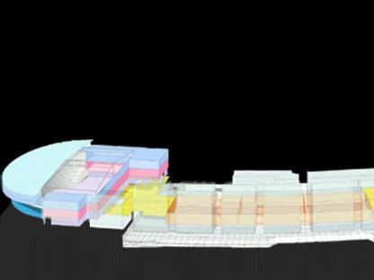 Renzo Piano. Lyon. Kongresszentrum der Cité internationale. 2006