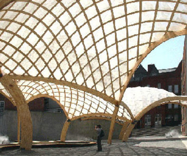 Obra Architects, temporärer Pavillon von PS 1. New York. 2006