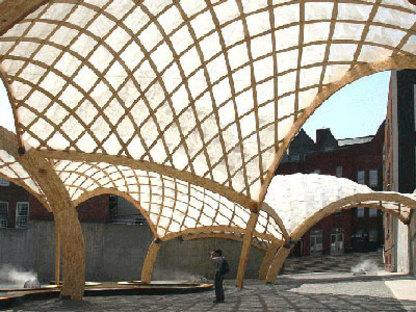 Obra Architects, temporärer Pavillon von PS 1. New York. 2006