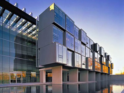The Perimeter Institute for Theoretical Physics.<br /> Saucier + Perrotte. Waterloo, 2004
