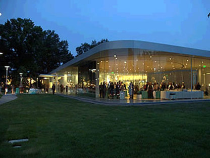 Glass Pavilion. Sanaa architects. Toledo. 2006