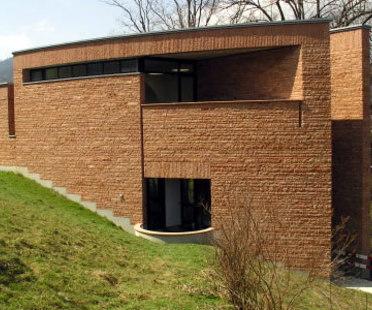 Mario Botta, Bibliothek Werner Oechslin<br /> Mario Botta. Einsiedeln (Schweiz). 2006