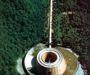 Tadao Ando. Museum of Wood. Wald von Mikata-gun