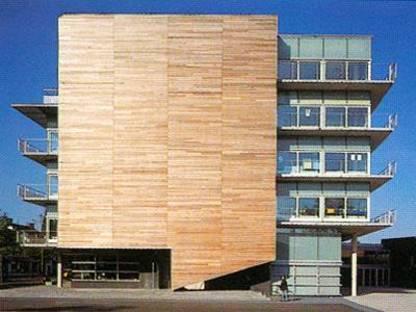 Montessori College, Amsterdam Ost, die Niederlande. Herman Hertzberger