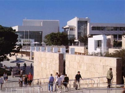 The Getty Center und The J. Paul Getty Museum, Richard Meier