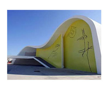 Teatro Popular von Niteroi (Brasilien) Oscar Niemeyer. 2007