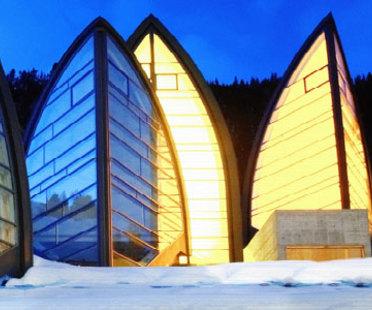 Wellness-Zentrum Bergoase. Mario Botta. Arosa (Schweiz). 2006