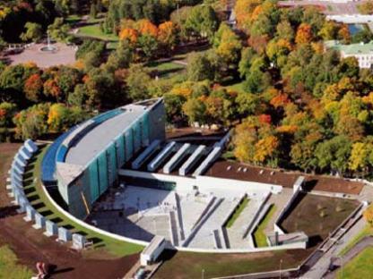 KUMU Art Museum - Vapaavuori Architects. Tallinn, Estland, 2006