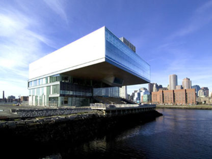 The Institute of Contemporary Art - Diller Scofidio + Renfro.<br />Boston, 2006