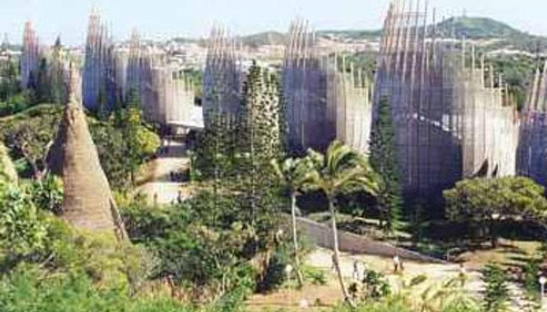 Kulturzentrum Jean Marie Tjibaou. Neukaledonien. Renzo Piano, 1998