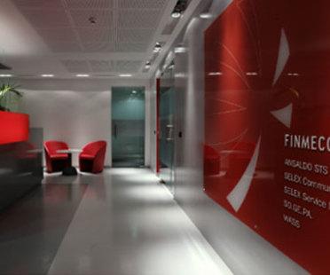 Büros von Finmeccanica. Progetto CMR. Rom. 2007